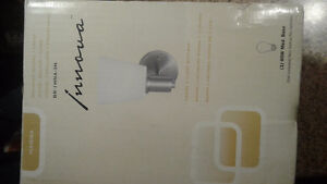 New wall sconce light for sale, new in box