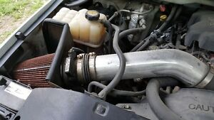 spectra cold air intake system with mass airflow sensor