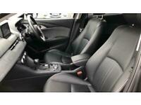 Mazda CX-3 2.0 Sport Black + Great MPG C Auto Hatchback Petrol Automatic