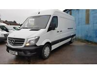 2014 MERCEDES SPRINTER 313 CDI LONG WHEEL BASE 4.3 METRE VAN,ONLY 71000 MILES