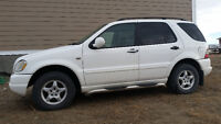 mercedes ml320 suv sale or trade for horse or livestock