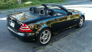 2002 Mercedes-Benz SLK 32 AMG Convertible- 349 HP V6 Kompressor