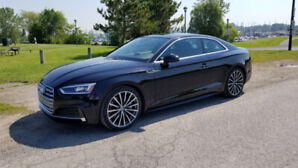 2018 Audi A5 Coupe S-Line, 6 speed Manual