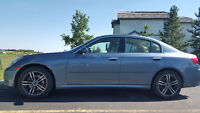 2006 Infiniti G35x Luxury Sedan, AWD, new brakes