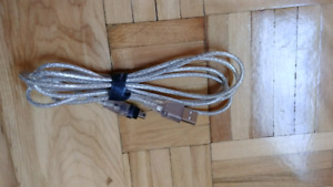 Cable PC USB A IEEE 1394 6 PIEDS
