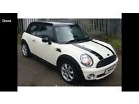 Mini Cooper 1.6 6 speed WHITE 1/2 LEATHER NEW MODEL