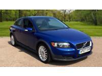 Volvo C30 2.0D 2007MY SE Lux 3 DOOR COUPE BRILLIANT BLUE PEARL