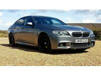 BMW 5 SERIES 520D M SPORT 2.0 FACE LIFT AUTO ULEZ FREE ALLOYS TINTED PX