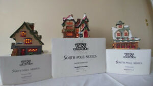 Santa's Village North Pole Series. Department 56 Original 1990.