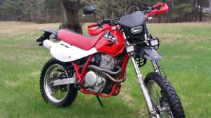 Motocross Honda Xr650l moteur neuf conditions A1