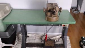 Machine à coudre la fourrure