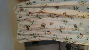 Heavy duty country style curtains
