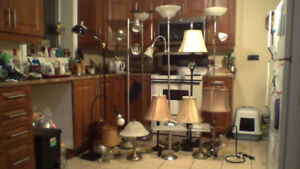 All Types of Lamps $5-$20ea ( 30 day guarantee ) WOW !