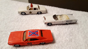 THE DUKES OF HAZZARD DIECAST CARS (reduced to 40) firm