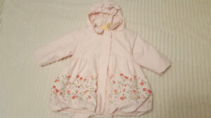 Gorgeous baby girl pink coat, 12-24 mo, pristine condition