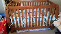 Storkcraft Crib and Mattress - excellent condition