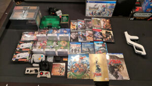 HUGE RETRO VIDEO GAME COLLECTION - 50% off! $1275