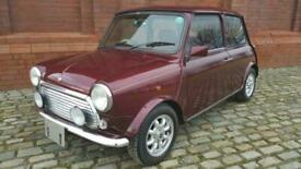 image for RARE CLASSIC MINI 40TH ANNIVERSARY EDITION IN MULBERRY & ONLY 22360 MILES