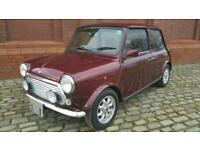 RARE CLASSIC MINI 40TH ANNIVERSARY EDITION IN MULBERRY & ONLY 22360 MILES
