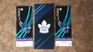 Toronto Maple Leafs Tickets Purple Row 13 Pairs March 2018 Games