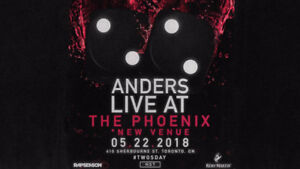ANDERS CONCERT TICKETS WANTED MAY 22 THE PHOENIX TORONTO