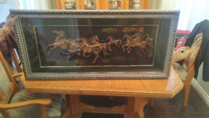 Huge Horse Photo for Sale with Frame