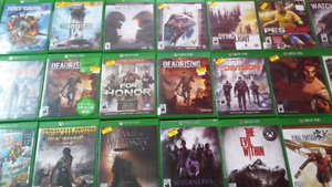 Xbox one games **SALE**