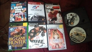PS2, Xbox game lot  8 GAMES FOR $10