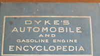Dyke's Automobile encyclopedia 19th edition - rare hard to find
