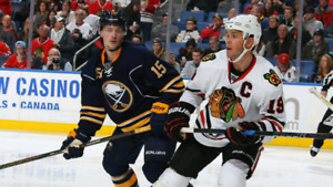 Chicago Blackhawks vs Buffalo Sabres Hockey
