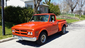 GMC 1968 PICK UP SHORT BOX STEP SIDE Model 910(comme un C/10) 40