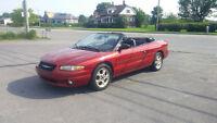 1999 Chrysler Sebring Convertible FINANCEMENT AUCUN CAS REFUSER