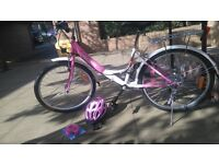 Girls Dutch style bike