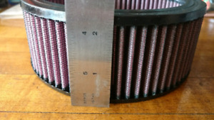 Air filter for S & S Harley