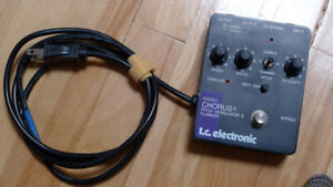 tc electronic, Stereo Chorus+Pitch Modulator & Flanger