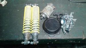 Un starter électrique pour VTT Kawasaki Bayou 350 4X4 1992