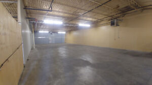 HEATED WAREHOUSE SPACE AVAILABLE FOR RENT!