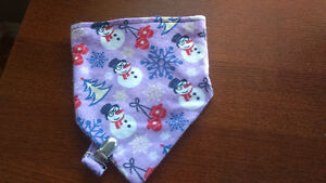 Bib with Matching Soother Strap