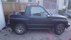 1991 Geo Tracker cl Convertible