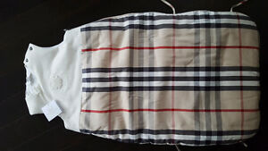 Authentic Burberry Sleep sack with tags attached