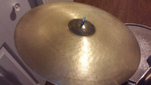 """Sabian Hand Hammered Raw Bell Dry Ride 21"""""""