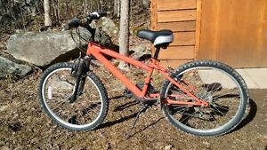 18in boys mountain bike with 26in tires