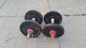 dumbbell pair / weights