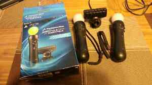 Camero and motion controlers PS3