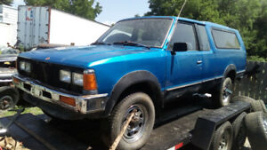 Rare find 1986 Nissan 4x4 long rider