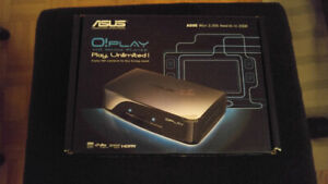 ASUS O!Play MEDIA PLAYER WITH IOMEGA 1TB EXTERNAL FULL OF MOVIES