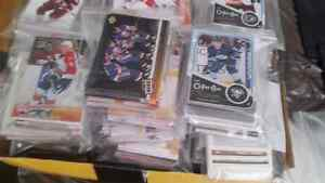 hockey cards  2.00    approx 50 cards per bag