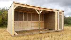 HORSE SHELTERS- to suit every need
