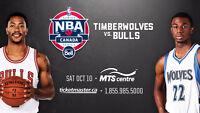 Minnesota Timberwolves vs Chicago Bulls NBA Preseason