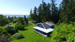 Super Private Country Style Home,5 acres, 1950 Shingle Spit Rd